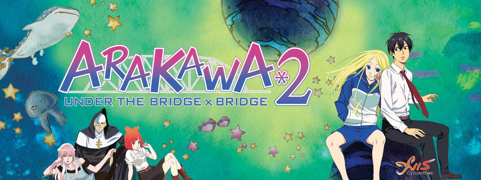 Arakawa Under The Bridge x Bridge Arakawa Under The Bridge x