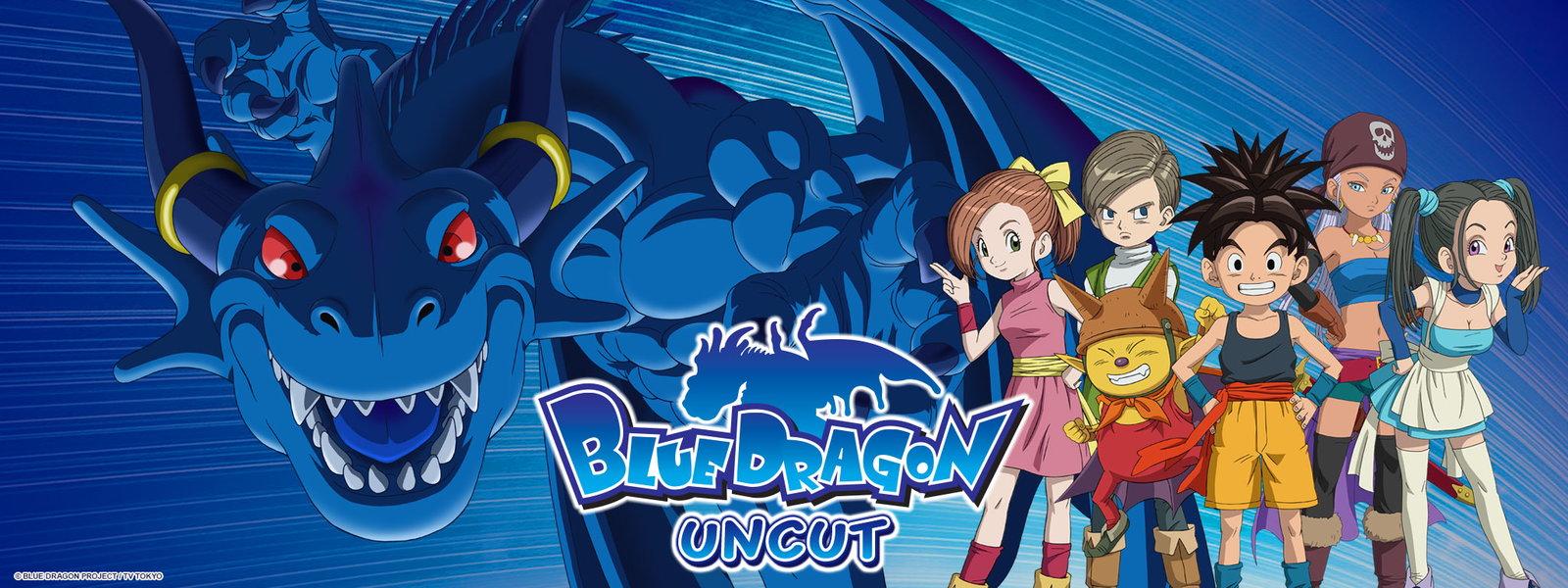 Blue Dragon Uncut