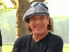 Join the team and Brian Johnson, lead singer, of AC/DC - as they race one of the world's fastest super-cars against Italy's most popular scooter and a subway pedestrian to see which is the fastest way to get across NYC.