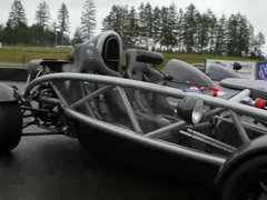 The hosts take an executive protective driving course; Matt Farah compares the stripped down, ultra light, open-wheeled Aerial Atom to the new import KTM Xbow; Dan drives a 1931 vintage race car.