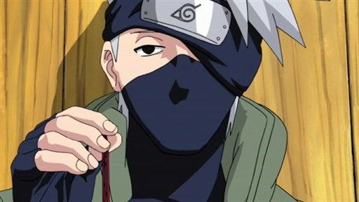 Kakashi Hatake, the Jonin in Charge