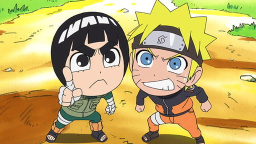 Rock Lee Is a Ninja Who Can't Use Ninjutsu/Rock Lee's Rival Is Naruto