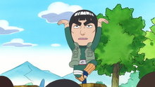 Naruto Spin-Off: Rock Lee & His Ninja Pals 4: Guy Sensei Didn't...Do It... / Guy Sensei's Rival Is Kakashi Sensei